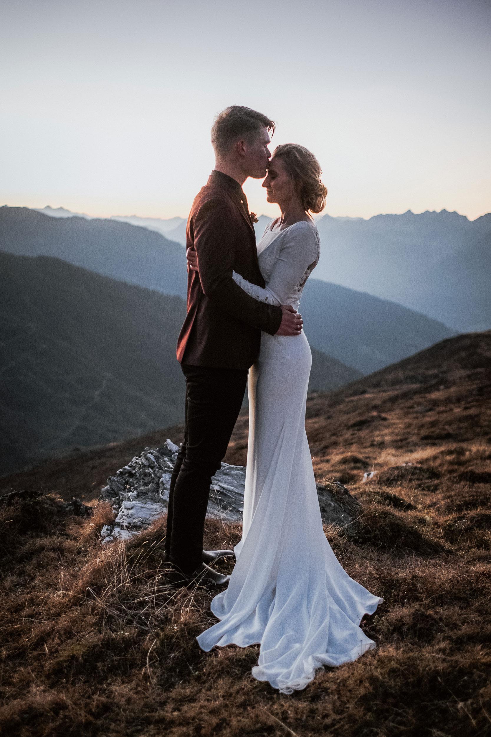 bridalhairandmakeup makeup artist mountain wedding tyrol austria destination Wedding