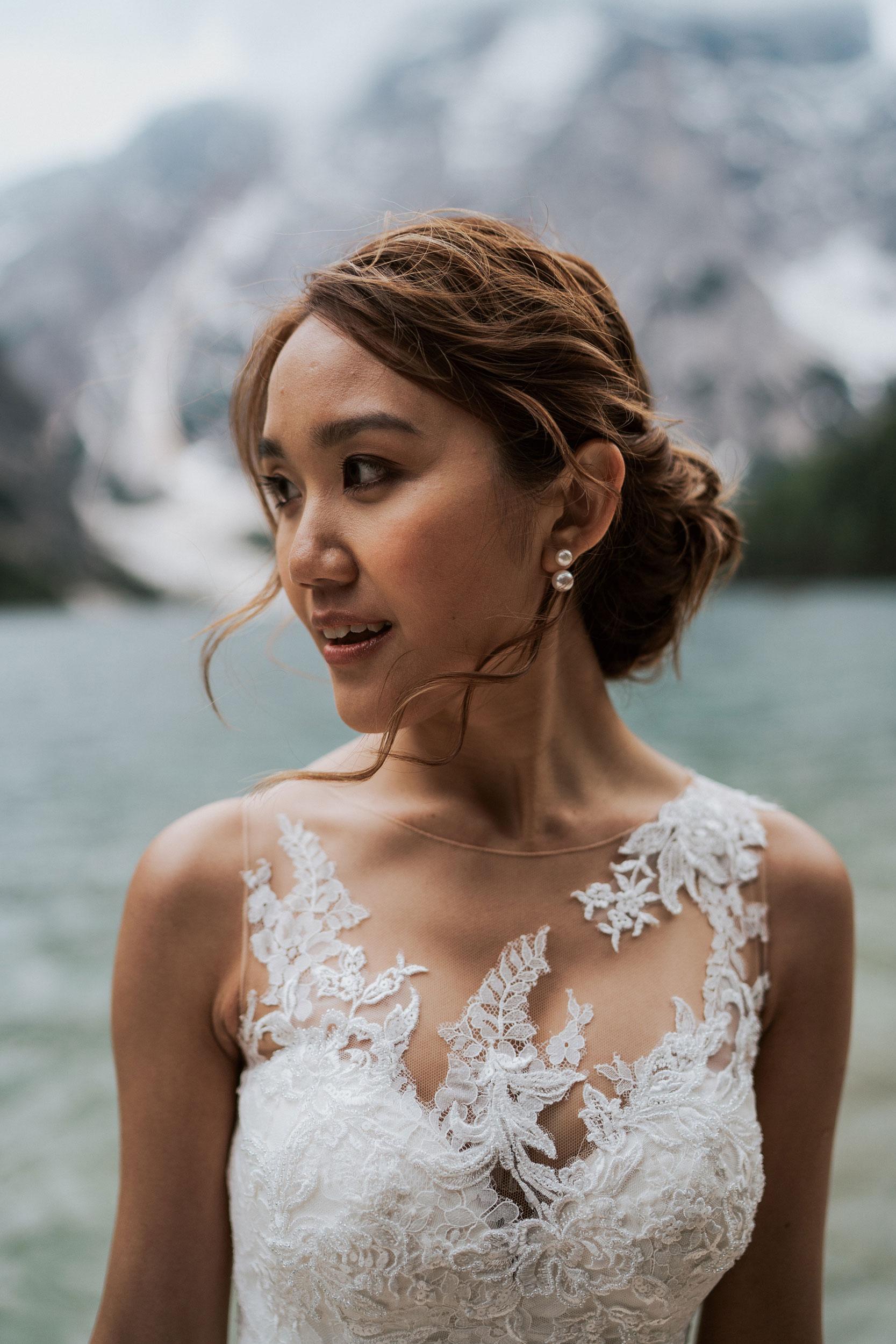 bridalhairandmakeup makeup artist Pragser Wildsee italy destination Wedding