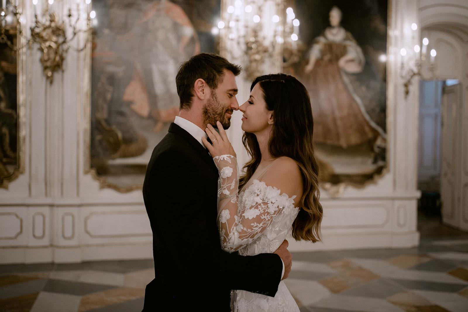 bridalhairandmakeup Wedding hofburg innsbruck Tyrol Elle & Matthias